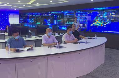 省大数据产业调研组赴松立集团参观调研